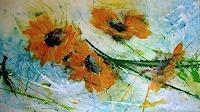 Michaela-Steinacher-Landschaft-Sommer-Pflanzen-Blumen-Moderne-Moderne