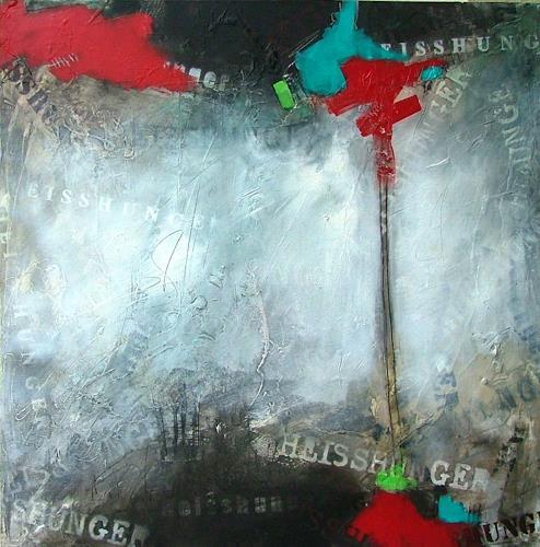Michaela Steinacher, Heisshunger, Abstraktes, Essen, Moderne