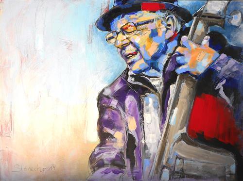 Michaela Steinacher, storyteller3, Menschen: Mann, Menschen: Porträt, Abstrakter Expressionismus, Expressionismus