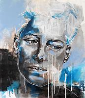Michaela-Steinacher-Menschen-Frau-Menschen-Gesichter-Moderne-Abstrakte-Kunst
