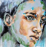 Michaela-Steinacher-Menschen-Gesichter-Menschen-Moderne-Abstrakte-Kunst