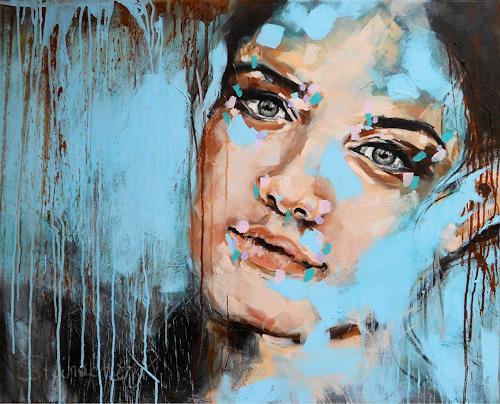 Michaela Steinacher, Tagtraum, Menschen, Menschen: Frau, Abstrakte Kunst, Expressionismus