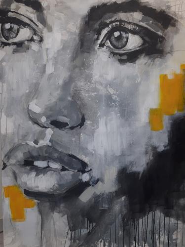 Michaela Steinacher, zielstrebig, Menschen: Gesichter, Menschen, Abstrakte Kunst