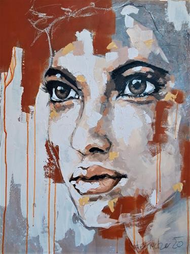 Michaela Steinacher, sieh michbitte nicht so an, Menschen, Menschen: Porträt, Gegenwartskunst