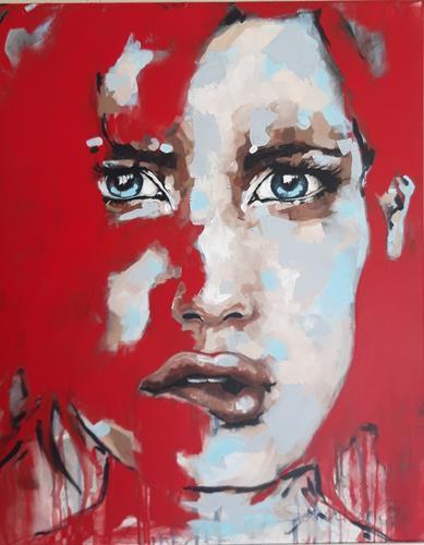 Michaela Steinacher, was habe ich getan, Menschen, Menschen: Porträt, Gegenwartskunst