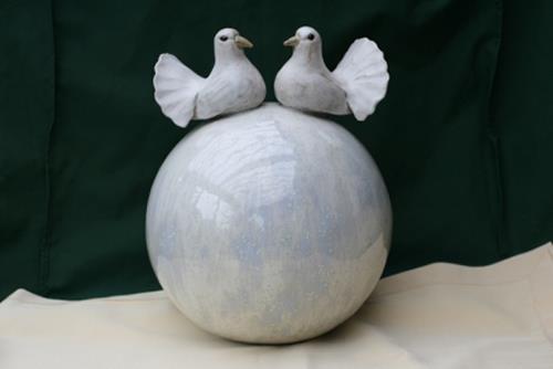 Annamarie + Vic Zumsteg, Hochzeitskugel (Annamarie Zumsteg), Dekoratives, Dekoratives