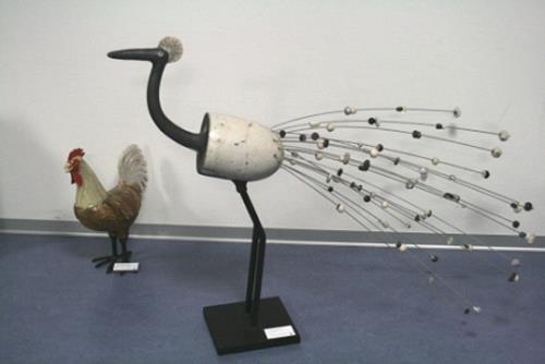 Vic Zumsteg, Paradiesvogel (Annamarie Zumsteg), Dekoratives