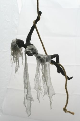 Annamarie + Vic Zumsteg, Seiltänzerin (Vic Zumsteg), Dekoratives, Abstraktes