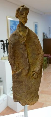 Vic Zumsteg, der Bettler  (Vic Zumsteg), Abstraktes, Dekoratives, Expressionismus