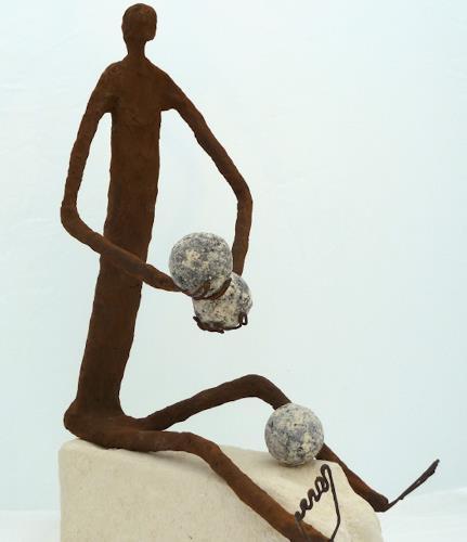 Annamarie + Vic Zumsteg, der Finanzjoungleur (Vic Zumsteg), Abstraktes, Dekoratives