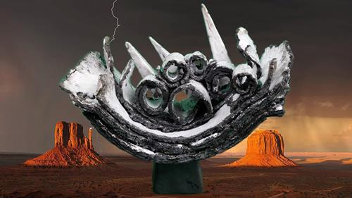 Vic Zumsteg, Opposites Gegensätze (Vic Zumsteg), Dekoratives, Abstraktes, Abstrakte Kunst