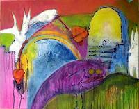 Anneliese-Di-Vora-Fantasie-Abstraktes