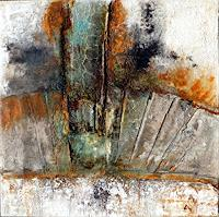 Anneliese-Di-Vora-Abstraktes-Symbol-Moderne-Abstrakte-Kunst