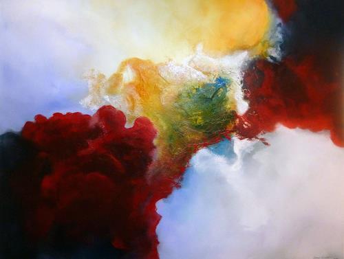 Werner Eisenreich, Leichtigkeit, Abstraktes, Abstrakte Kunst, Expressionismus