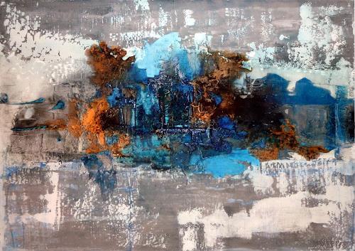 Werner Eisenreich, o.T., Abstraktes, Expressionismus