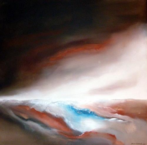 Werner Eisenreich, Seascape 1, Abstraktes, Abstrakter Expressionismus