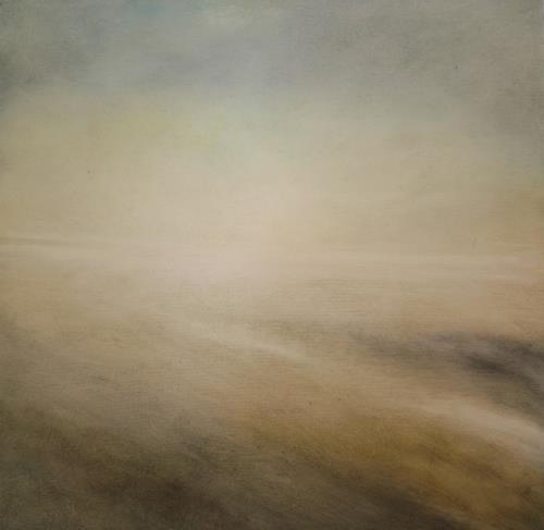 Petra Foidl, Winterstimmung, Gefühle: Geborgenheit, Landschaft: Winter, Gegenwartskunst, Expressionismus