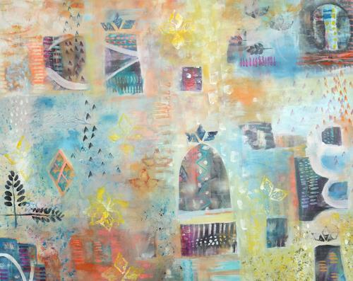 Petra Foidl, ohne Titel, Abstraktes, Abstrakte Kunst