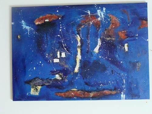 Ursula Bieri, Galaxie, Abstraktes, Diverse Weltraum, Moderne