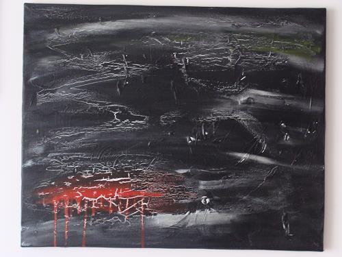 Ursula Bieri, blood wall, Abstraktes, Abstraktes, Moderne