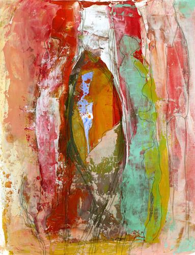 Christa Otte-Kreisel, tutto al suo tempo [6], Abstraktes, Abstrakte Kunst, Expressionismus