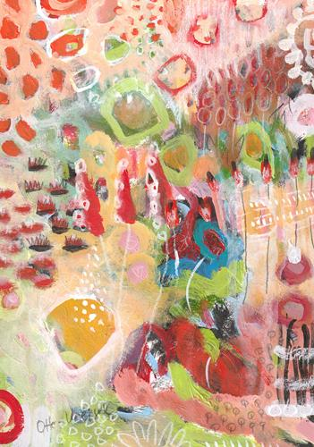 Christa Otte-Kreisel, dream inside, Fantasie, Abstrakte Kunst, Expressionismus