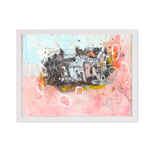 Christa Otte-Kreisel, summer is going – gentle dramatic, Abstraktes, Gegenwartskunst
