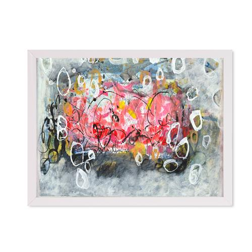 Christa Otte-Kreisel, Night is gone, Abstraktes, Gegenwartskunst