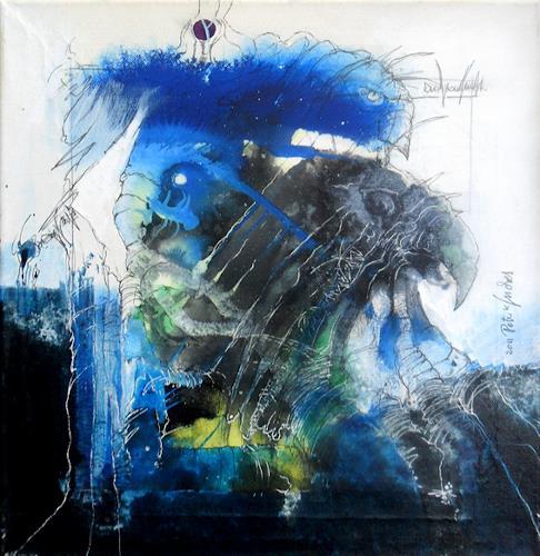 Peter K. Endres, MONTEZUMA, Geschichte, Mythologie, Surrealismus, Abstrakter Expressionismus
