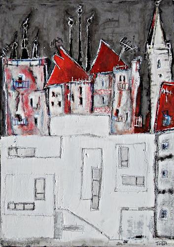 torsten burghardt, alt trifft neu, Bauten, expressiver Realismus
