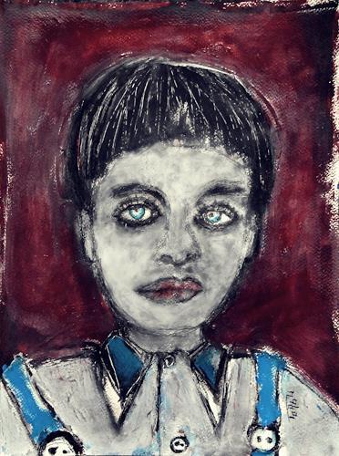 torsten burghardt, O/T, Menschen: Porträt, Abstrakte Kunst