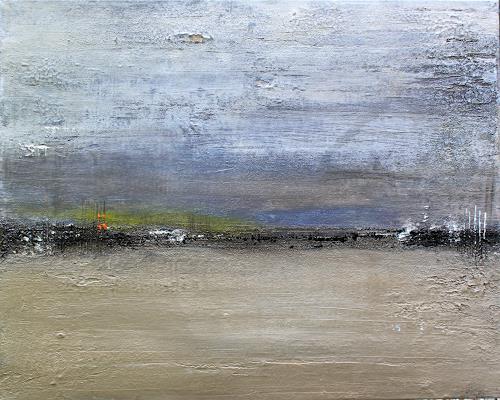 Birgit Dierker immer auch leicht birgit dierker abstraktes landschaft see