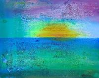 Florian-Freeman-Landschaft-See-Meer-Natur-Wasser-Moderne-Expressionismus-Abstrakter-Expressionismus