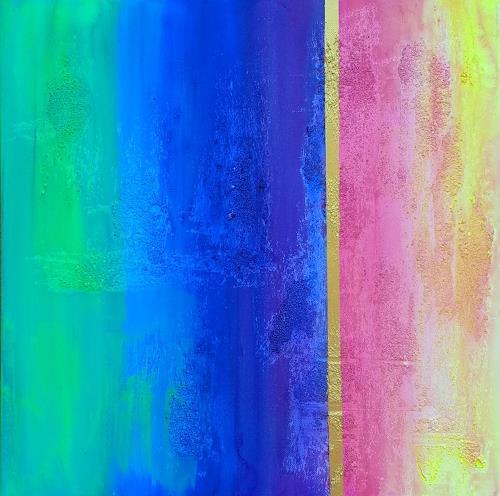 Florian Freeman, Good Morning, Abstraktes, Gefühle: Freude, Abstrakte Kunst