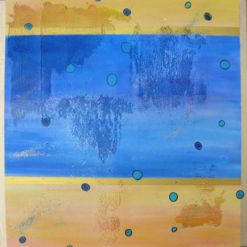 Florian Freeman, Bubbles, Abstraktes, Dekoratives, Art Déco