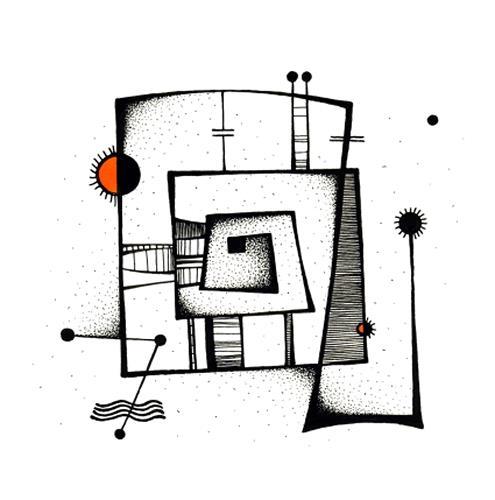 Ryn Shaparenko, aus der Serie Mechanoide, o.T., Abstraktes, Technik, Bauhaus, Expressionismus