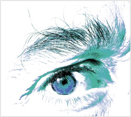 Klaas Kriegeris, kalter Blick, Fashion, Diverses, Fotorealismus, Abstrakter Expressionismus