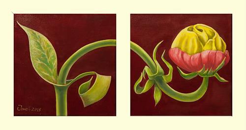arthoss, Gewachsen aus der Phantasy, Pflanzen: Blumen, Stilleben, Surrealismus