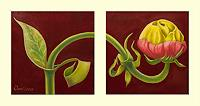 arthoss-Pflanzen-Blumen-Stilleben-Moderne-Avantgarde-Surrealismus