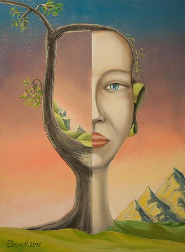 arthoss, Sehen und Denken, Fantasie, Menschen: Frau, Surrealismus