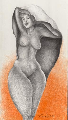 arthoss, Eingehüllt, Menschen: Frau, Surrealismus