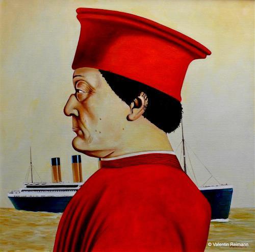 Valentin Reimann, Ein Herr der Renaissance und der Untergang, Geschichte, Landschaft: See/Meer, Realismus, Abstrakter Expressionismus