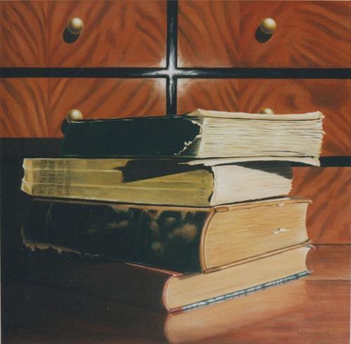 Valentin Reimann, Bücher, Stilleben, Freizeit, Gegenwartskunst, Expressionismus