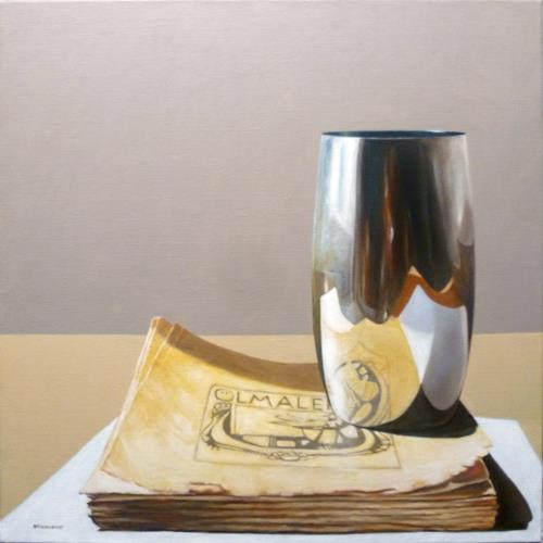 Valentin Reimann, Ölmalerie, Stilleben, Realismus, Expressionismus