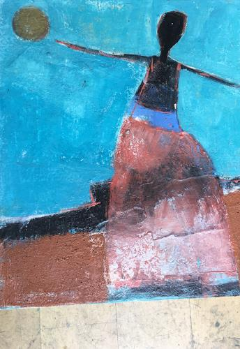 Doris Pade, O.T., Abstraktes, Abstrakte Kunst, Expressionismus