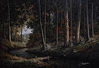 Disney, forest landscape