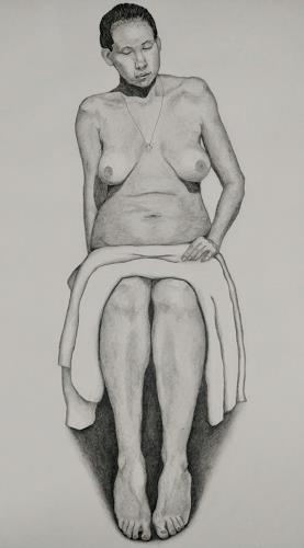 Max, Nude sketch Elan, Menschen: Frau, Akt/Erotik: Akt Frau, Gegenwartskunst