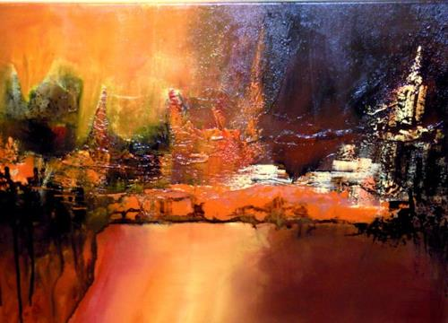 Kainz kunst abstraktes diverse landschaften moderne abstrakte kunst