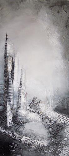 Ingrid Kainz, Winter, Abstraktes, Abstrakte Kunst