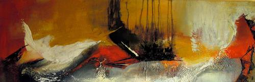 Ingrid Kainz, ..flieg weisser Vogel, Abstraktes, Abstraktes, Abstrakte Kunst